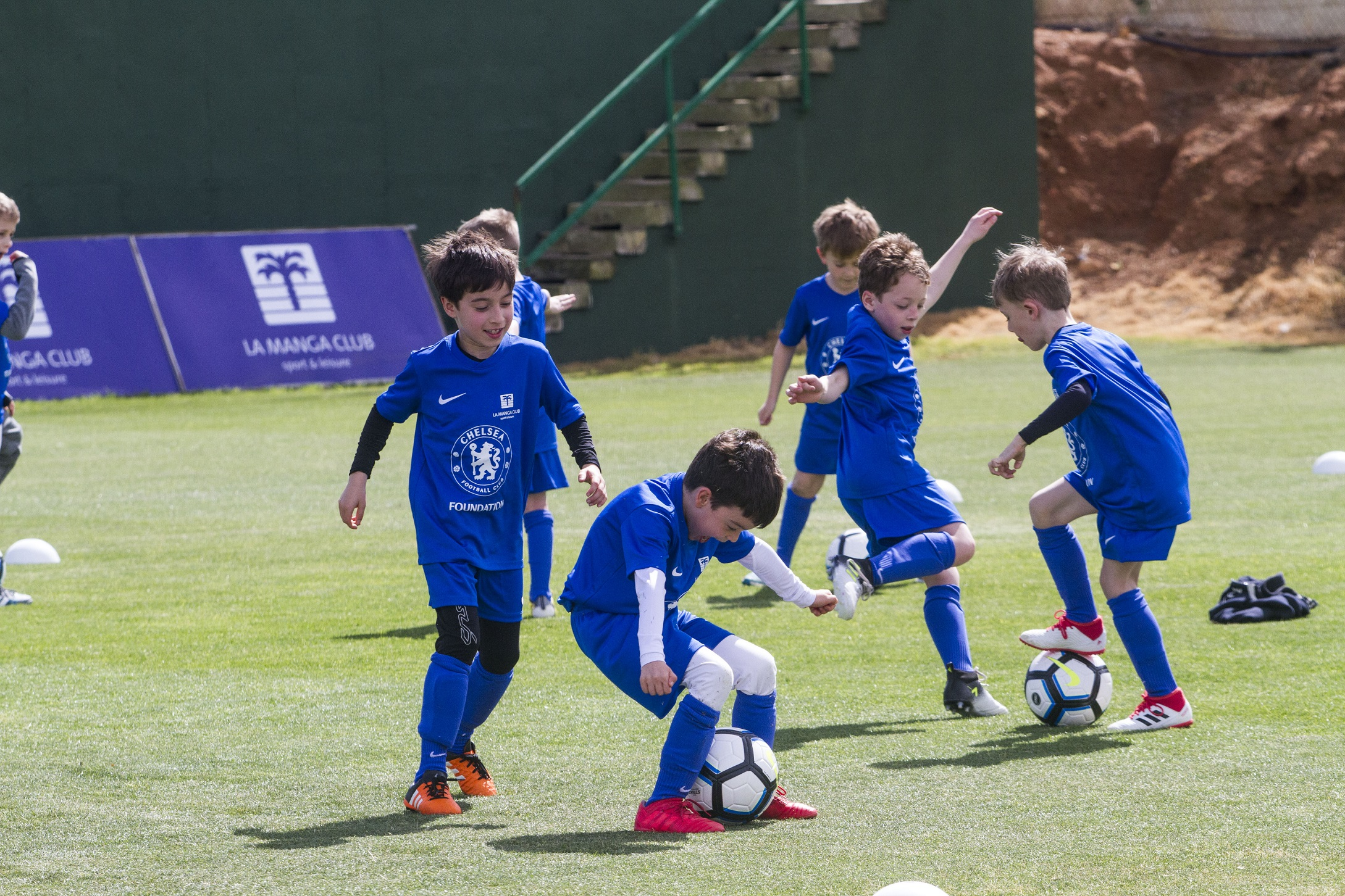 Youngsters having been having fun with Chelsea at La Manga Club