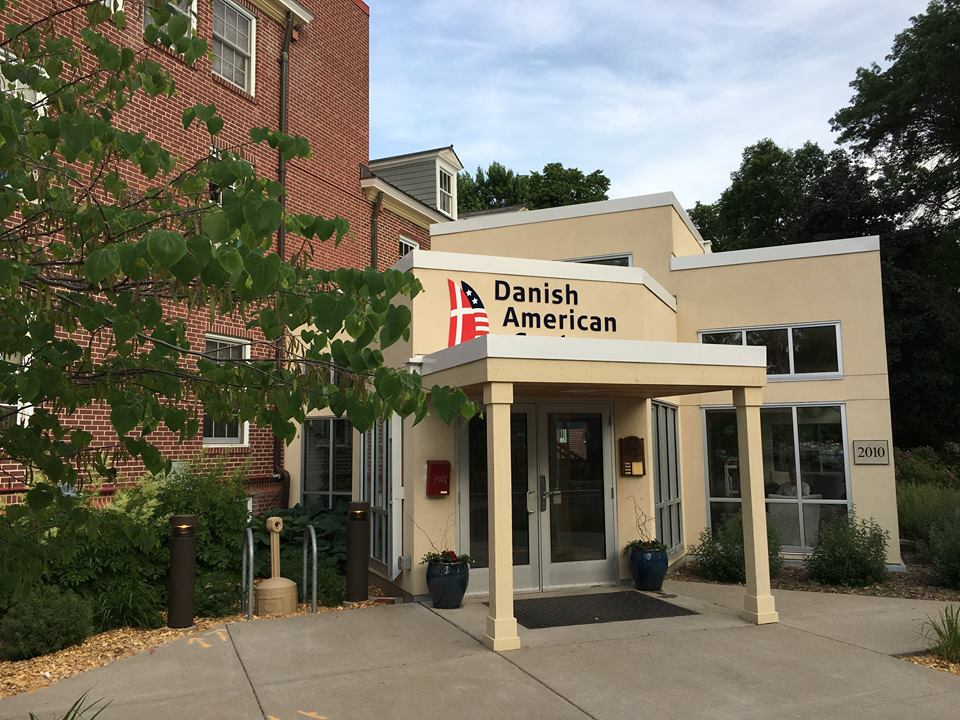 Danish American Center - Danebo - Explore all four levels of this historic building along the river, including the gathering spaces, Danish history exhibits, dining areas, guest rooms and classrooms. Danish American Center member hosts will be on hand to guide you and answer questions about the history of the building and the Danish community in Minnesota.