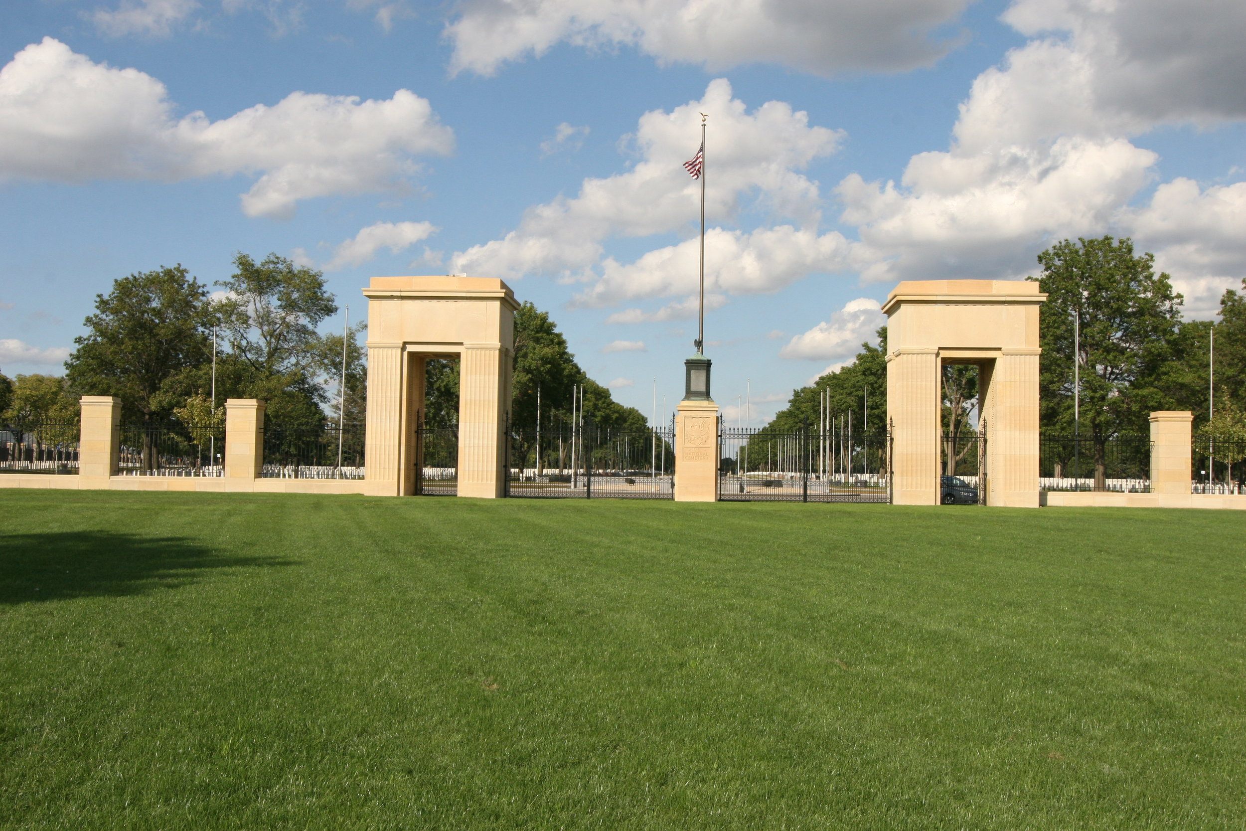 Fort Snelling National Cemetery - Take a self-guided walking tour of the cemetery and discover unique, historical grave sites of local men and women who shaped regional and national history going as far back as the Civil War.