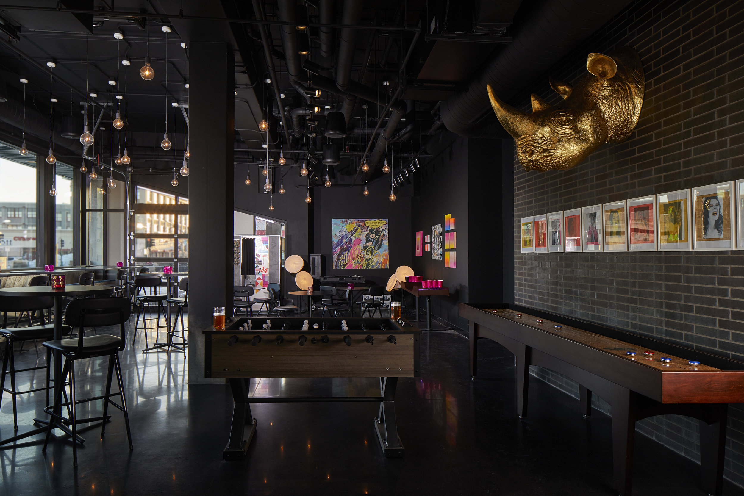 Moxy Minneapolis Uptown - Explore the brand-new Moxy Minneapolis Uptown, a hotel inspired by Minneapolis' unique culture. In partnership with the SooVAC, artwork by local artists is on display, including murals and graffiti throughout the hotel. It has all the comforts of your living room with the exciting action of a backstage pass.