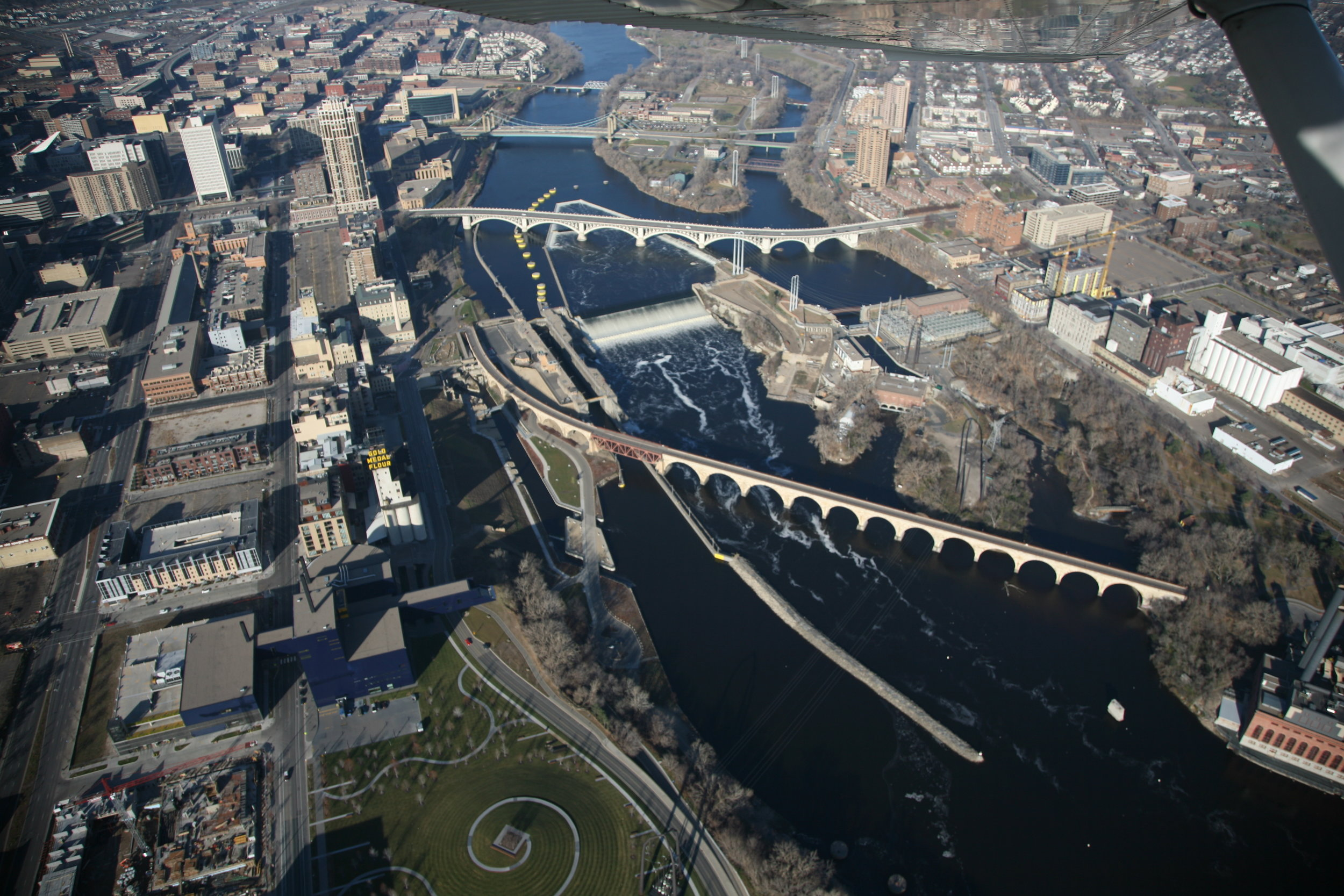 Upper St. Anthony Falls Lock & Dam - Explore this unique river navigation structure and get up close to St. Anthony Falls, including walking around the top of the highest lock on the Upper Mississippi River! Knowledgeable park rangers will be onsite to answer questions and guide tours. The lock wall is outside, so dress appropriately for the weather.