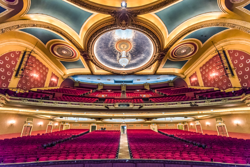 Orpheum Theater - Experience Back Stage Access as we open the back door [stage door] and take visitors on the stage and witness Stage Hands demos. See the beautiful Orpheum theater from the perspective of being on the stage. Only open on Sunday.