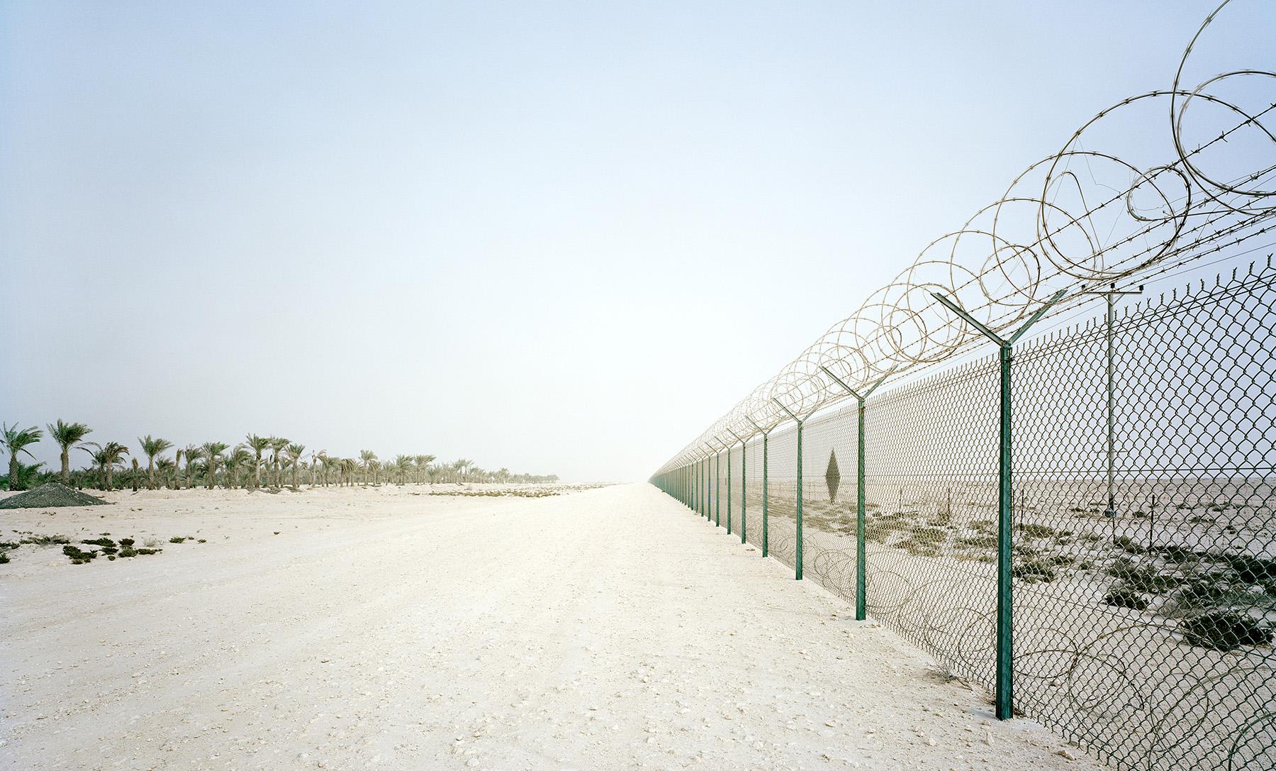 Fence, Ras Laffan, Qatar, 2010