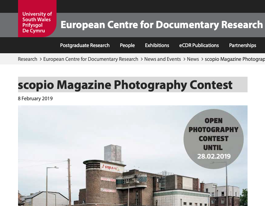 scopio Magazine Photography Contest