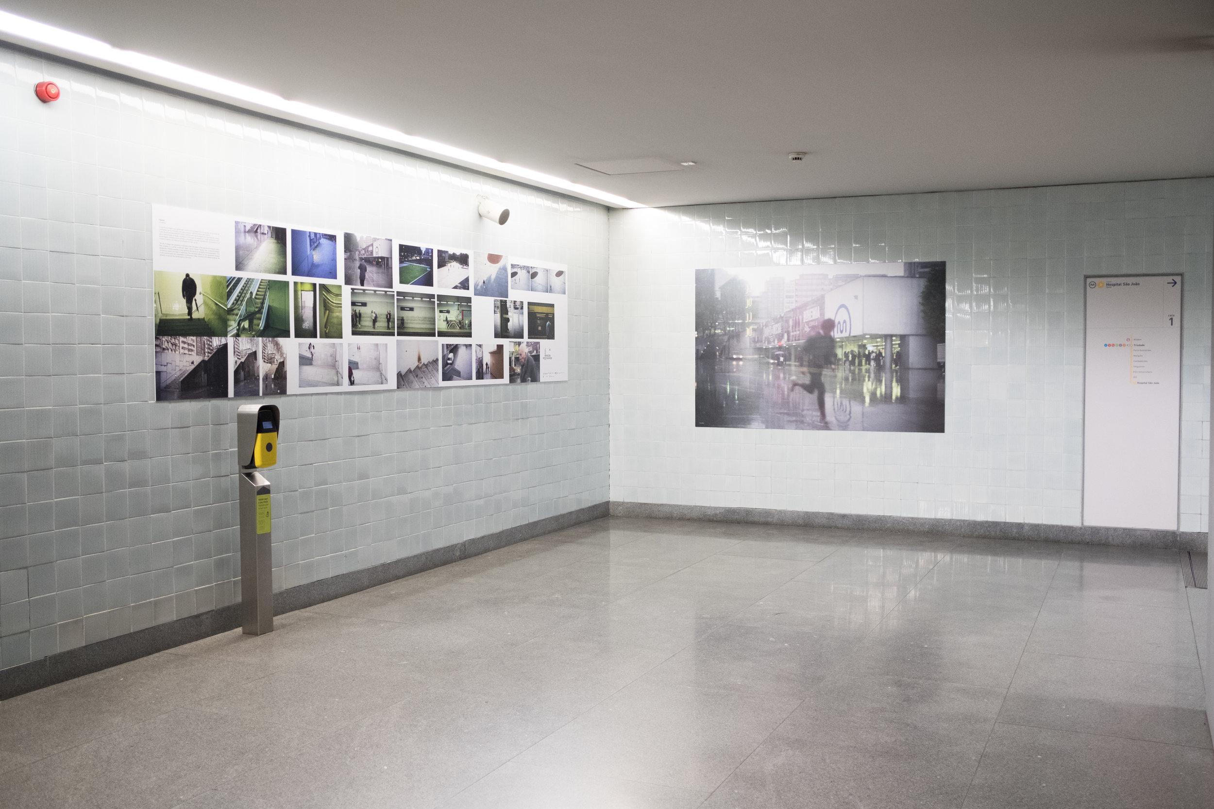 Apresentação e Visita Guiada com Curador e Autores: Visual Spaces of Change / Ci.CLO Bienal Fotografia do Porto 2019 - Estações de Metro da Avenida dos Aliados e S. Bento
