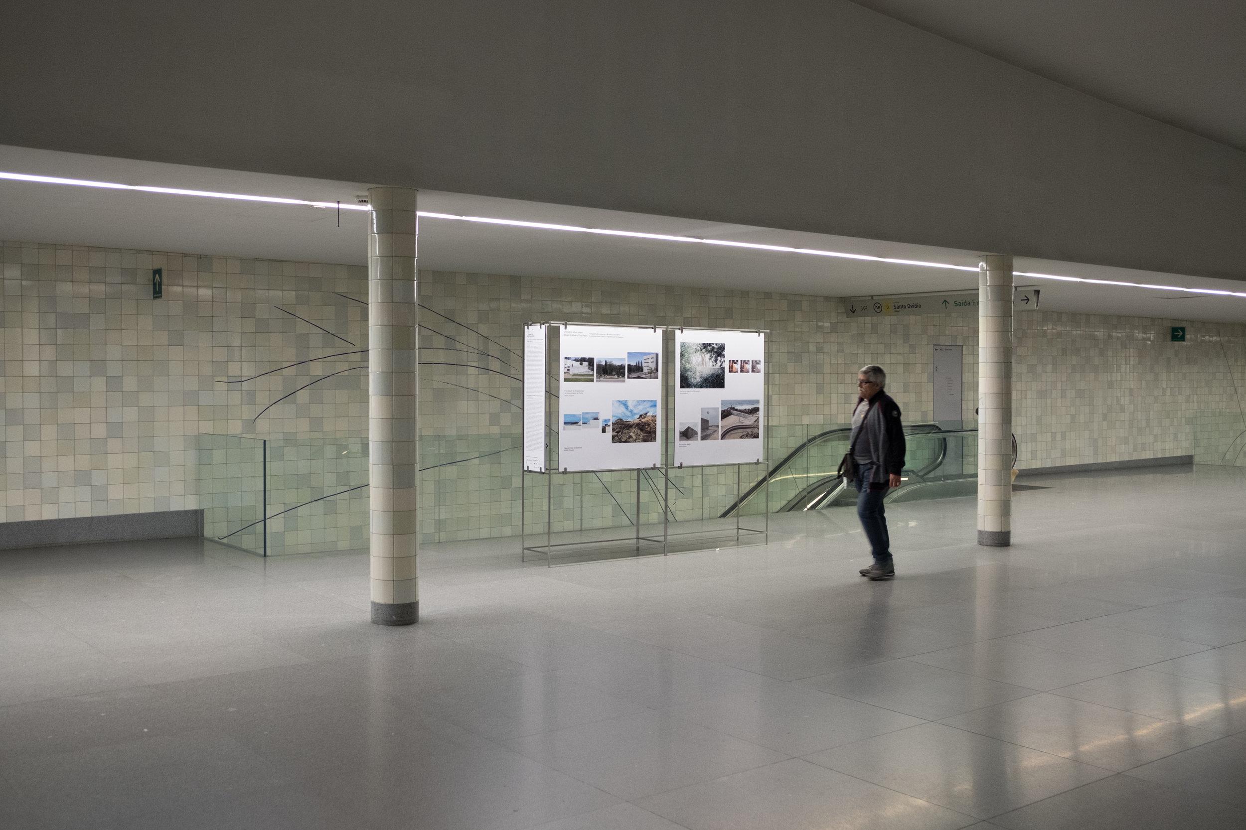 Visita Guiadas com Autores Visual Spaces of Change: Estações de Metro da Avenida dos Aliados e São Bento, OASRN
