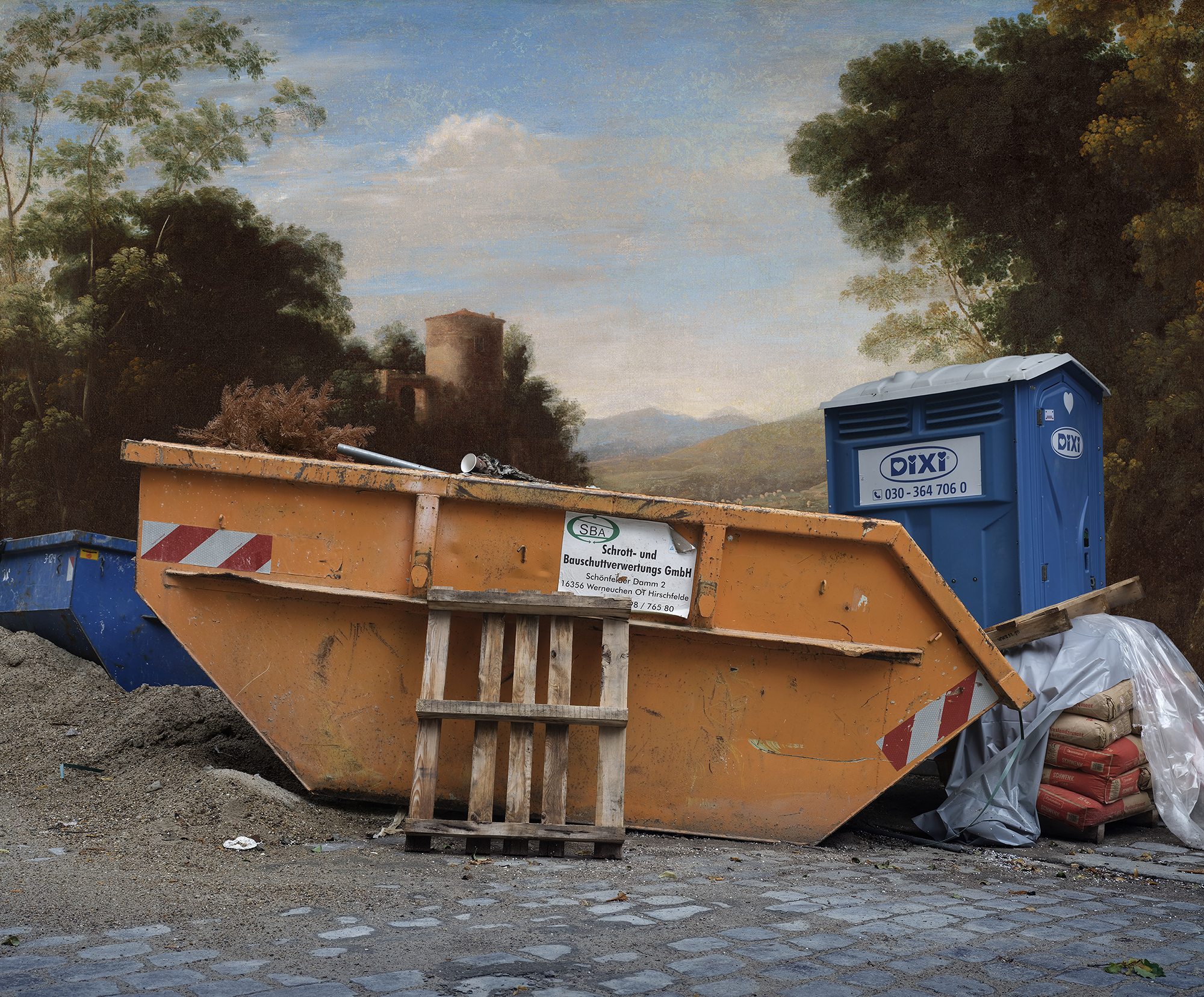 LANDSCAPE WITH AN ORANGE SKIP.jpg