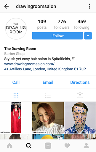 salon marketing on instagram