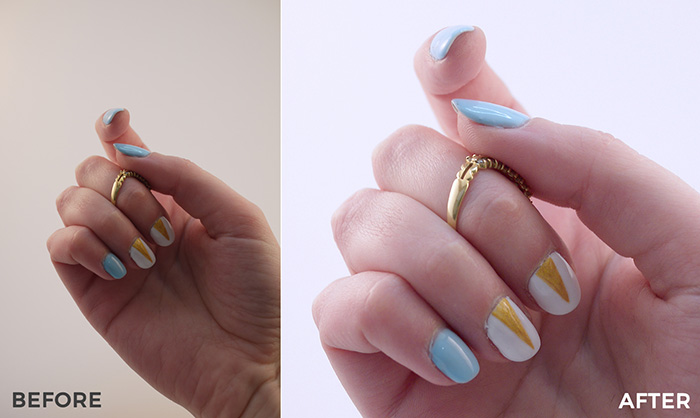 How I got my nail pics from a 3 to a strong 8 (with zero photography skills!)