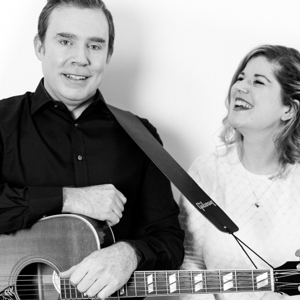 The Cazettes acoustic - Stephen Byrne and Caroline 'Caz' O'Neill have many years of experience as singer-songwriters between them, and they bring that musicality to every joyous performance. Together they will help guide you through each aspect of your ceremony or event. From song choice, order and timing, to how and where they should perform in order to provide the perfect solution to your event.