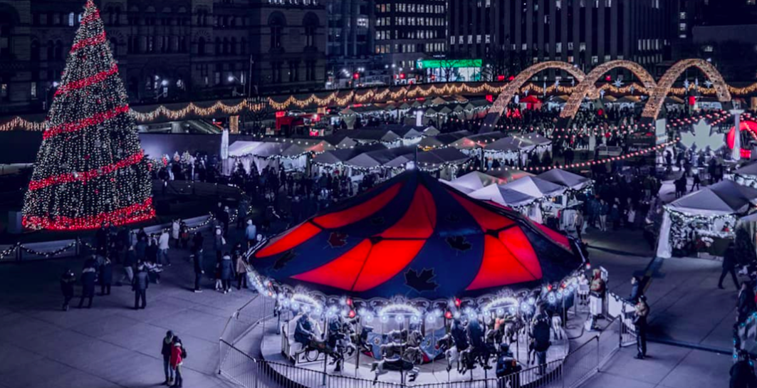 Daily Hive - Toronto's Holiday Fair in the Square opens December 1 http://dailyhive.com/toronto/holiday-fair-in-the-square-nathan-phillips-toronto-december-2018