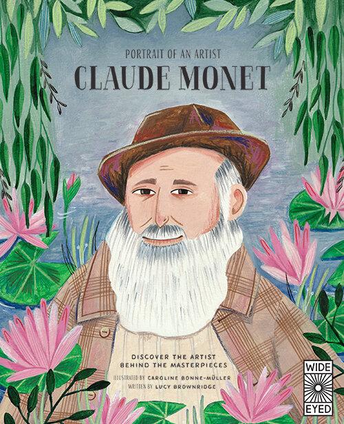 Portrait of an Artist, Claude Monet by Lucy Brownridge, spring 2020