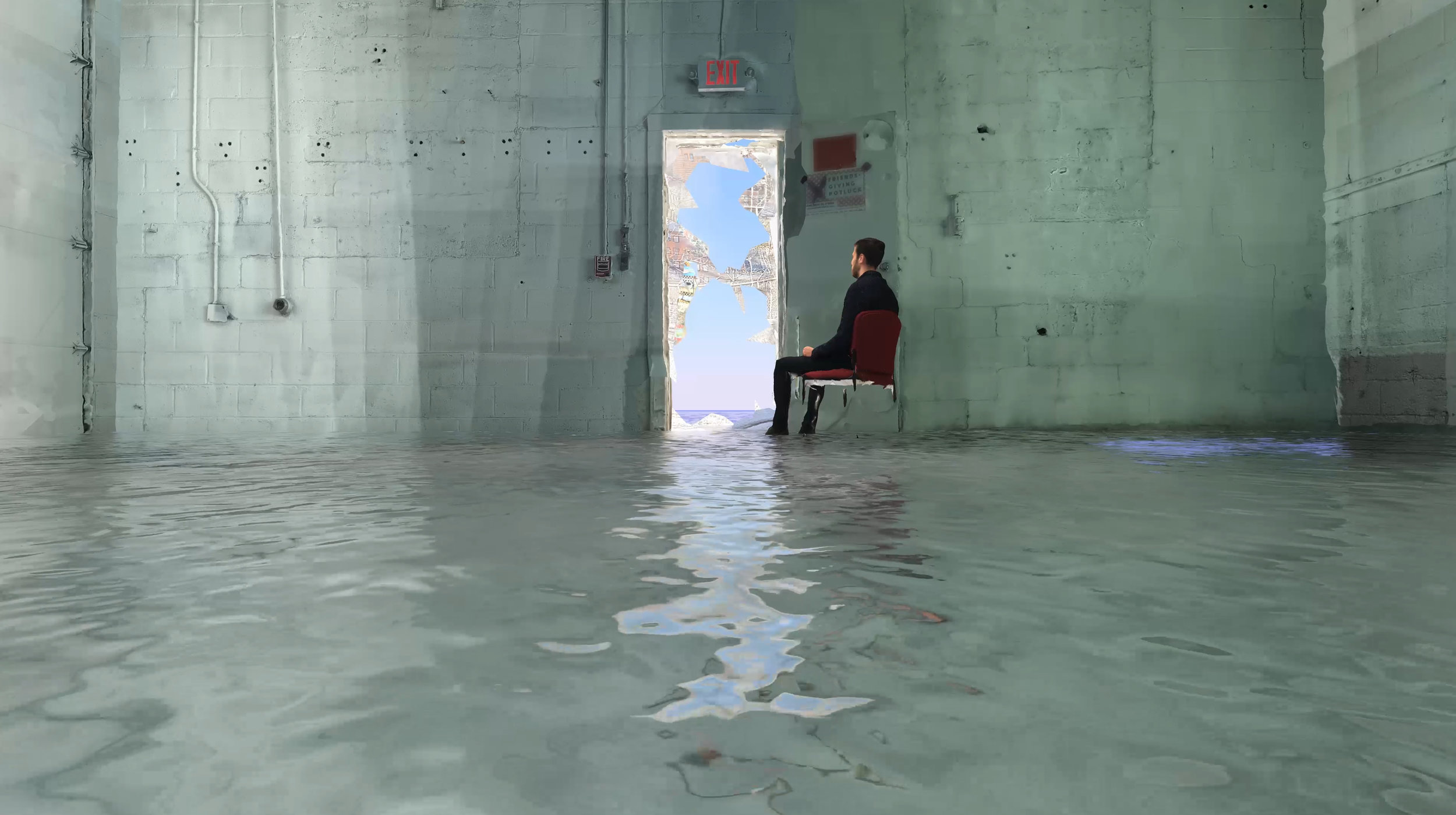 A Flooded Space