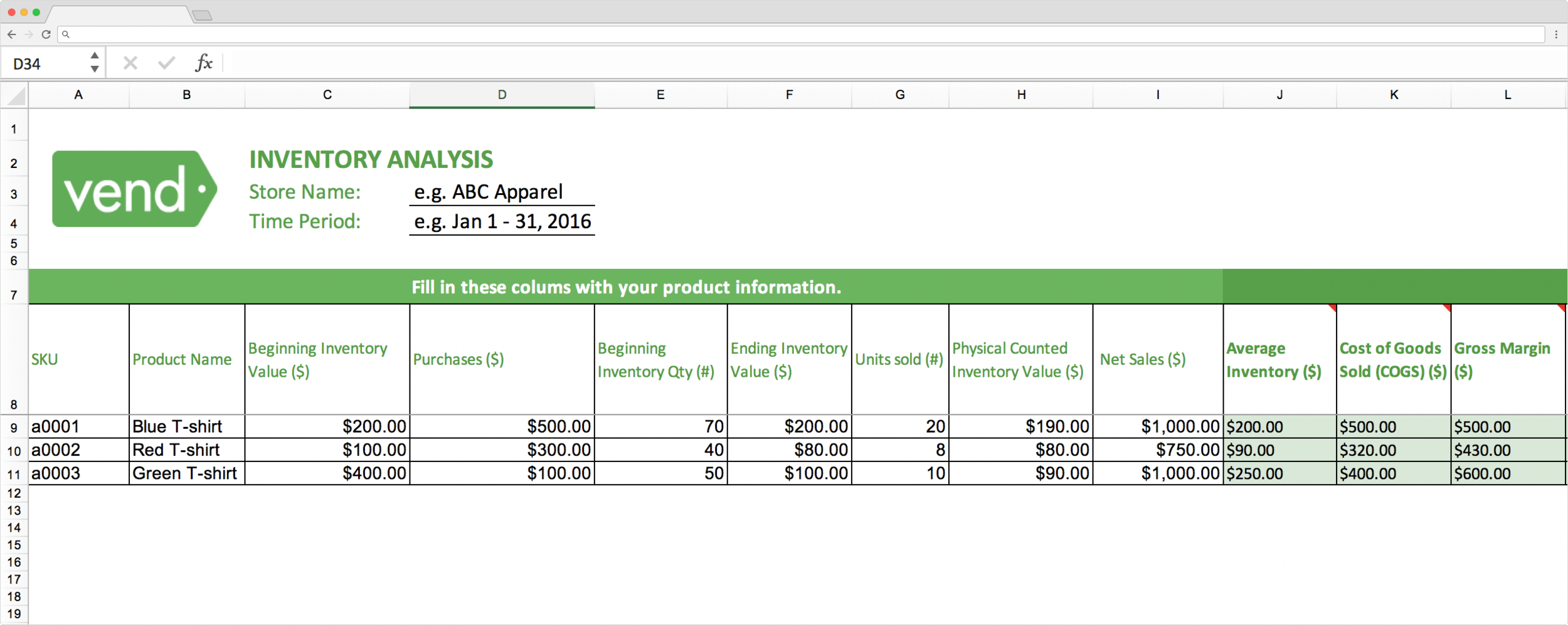 Top 15 Inventory Tracking Excel Templates Phiona