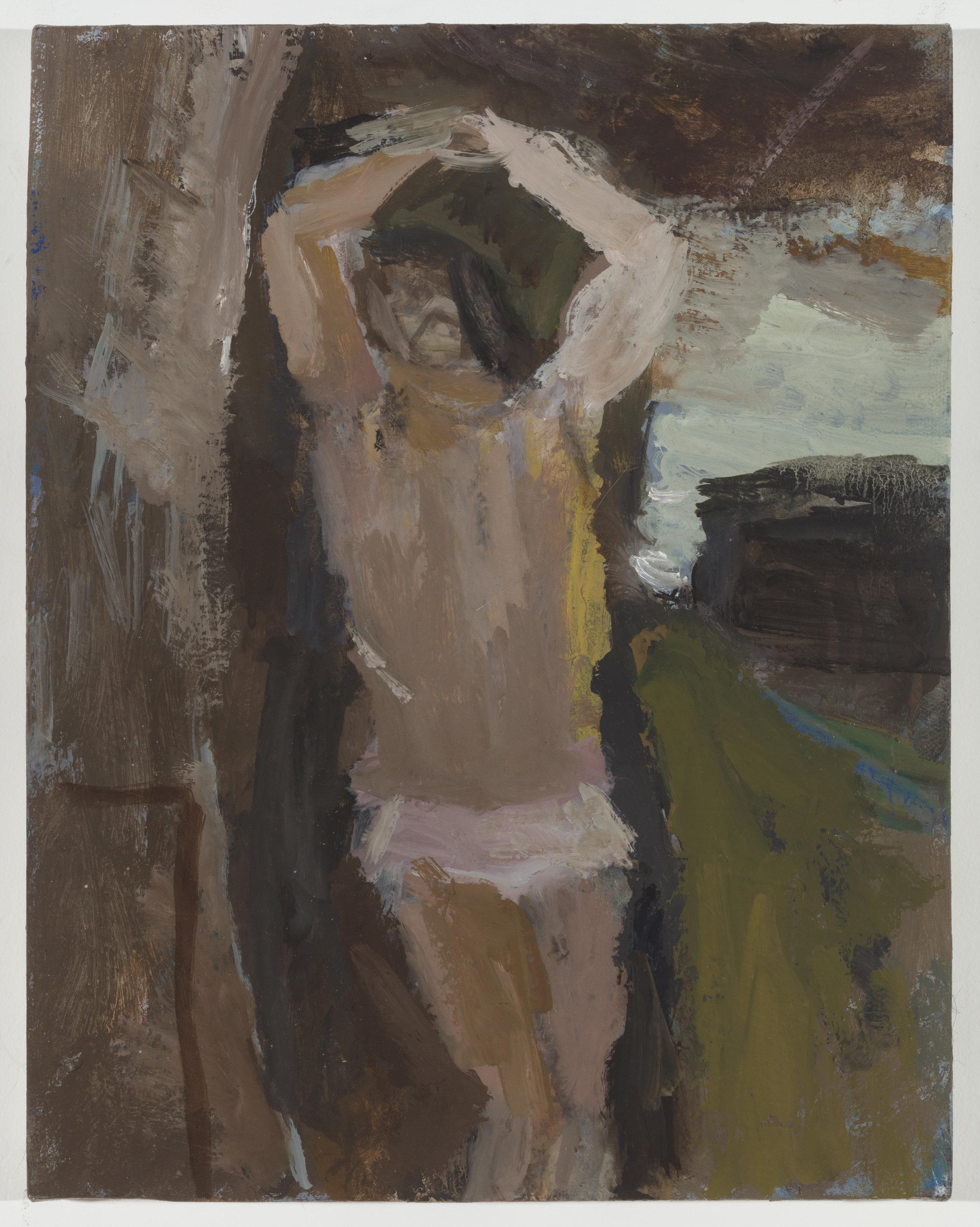 St Sebastian, after Corot