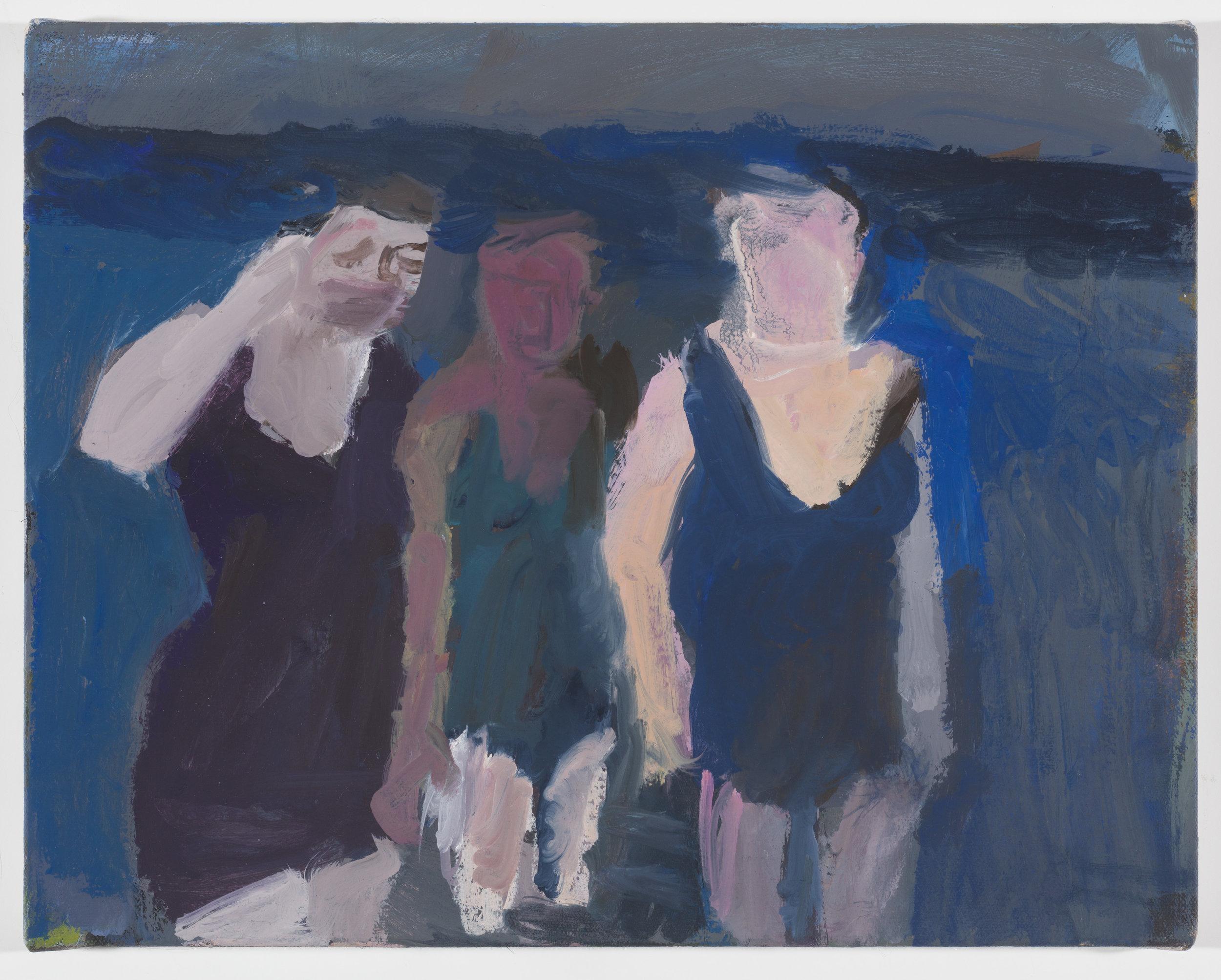 Blue Bathing Suits II