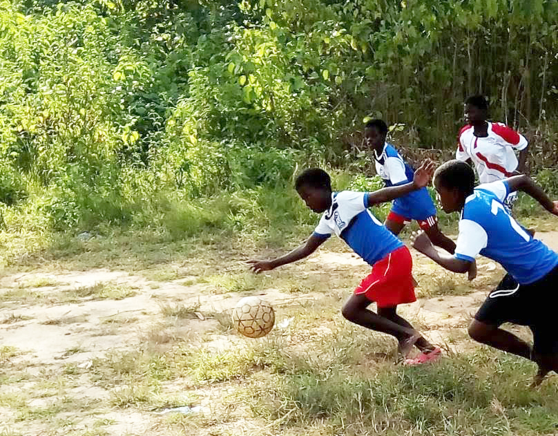 Players with the Bandawe School for the Deaf in NkhataBay, Malawi, are among those who have received sports bras and uniforms through The Sports Bra Project.