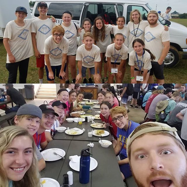 This summer we took an awesome group of High Schoolers to Dayspring WOW! We had a great experience and got to dive into how God is with us always. #highschoolcamp