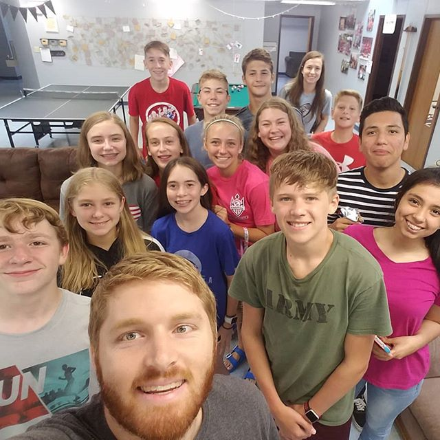 Great group of students tonight! We are missing a couple of them in this picture!  We have started our journey through the Bible. Come join us in 2 weeks as we continue to discover what the Bible has to offer!