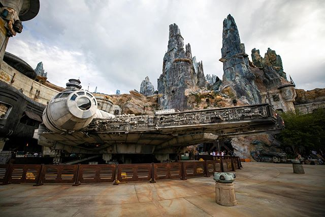 Wow. What an incredible evening we had last night at the Passholder Preview for Galaxy's Edge in Disney's Hollywood Studios. Smuggler's Run was a BLAST(pun intended)!!! It's truly a different experience with every crew. PS. Get the Roasted Tip Yip 😍