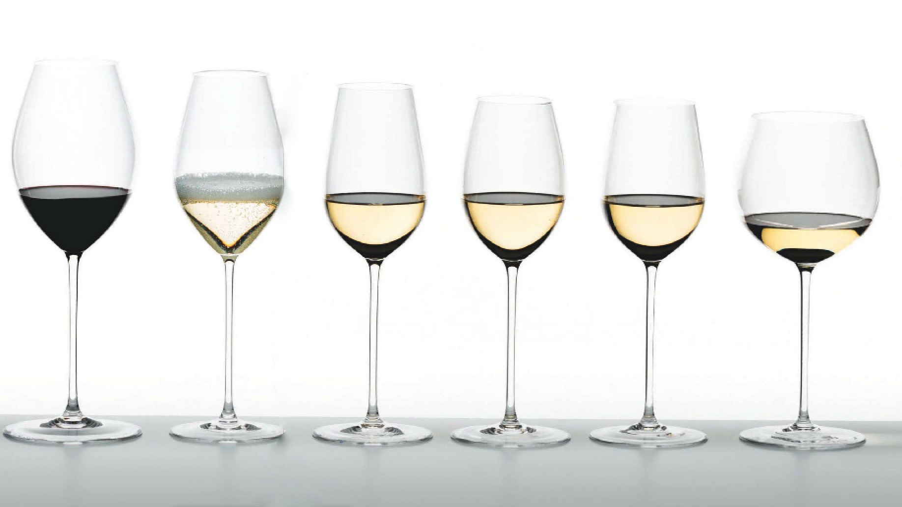 Vessel Advisement - A sommelier simplifies the wine glass selection process