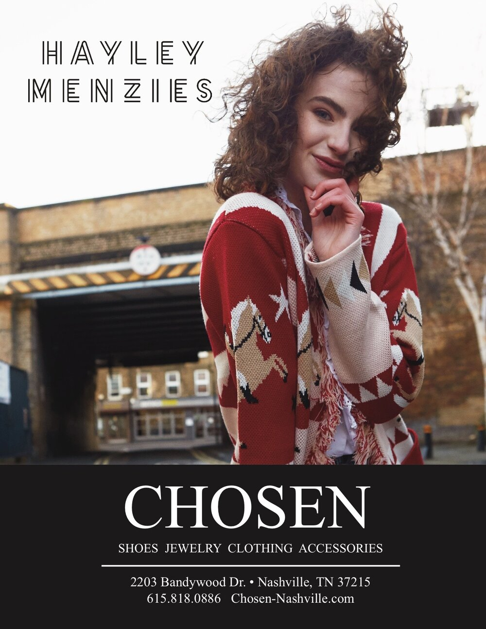 CHOSEN - A women's concept store specializing in unique clothing, accessories, fine jewelry, shoes and bags. Featuring designers from all across the globe.www.chosen-nashville.com