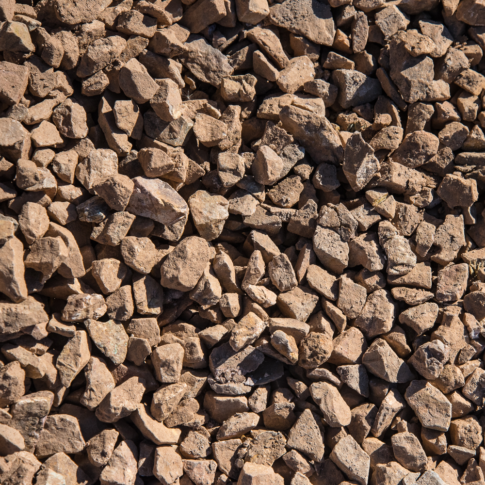"""1"""" Coronado Brown - $26.00/ton"""
