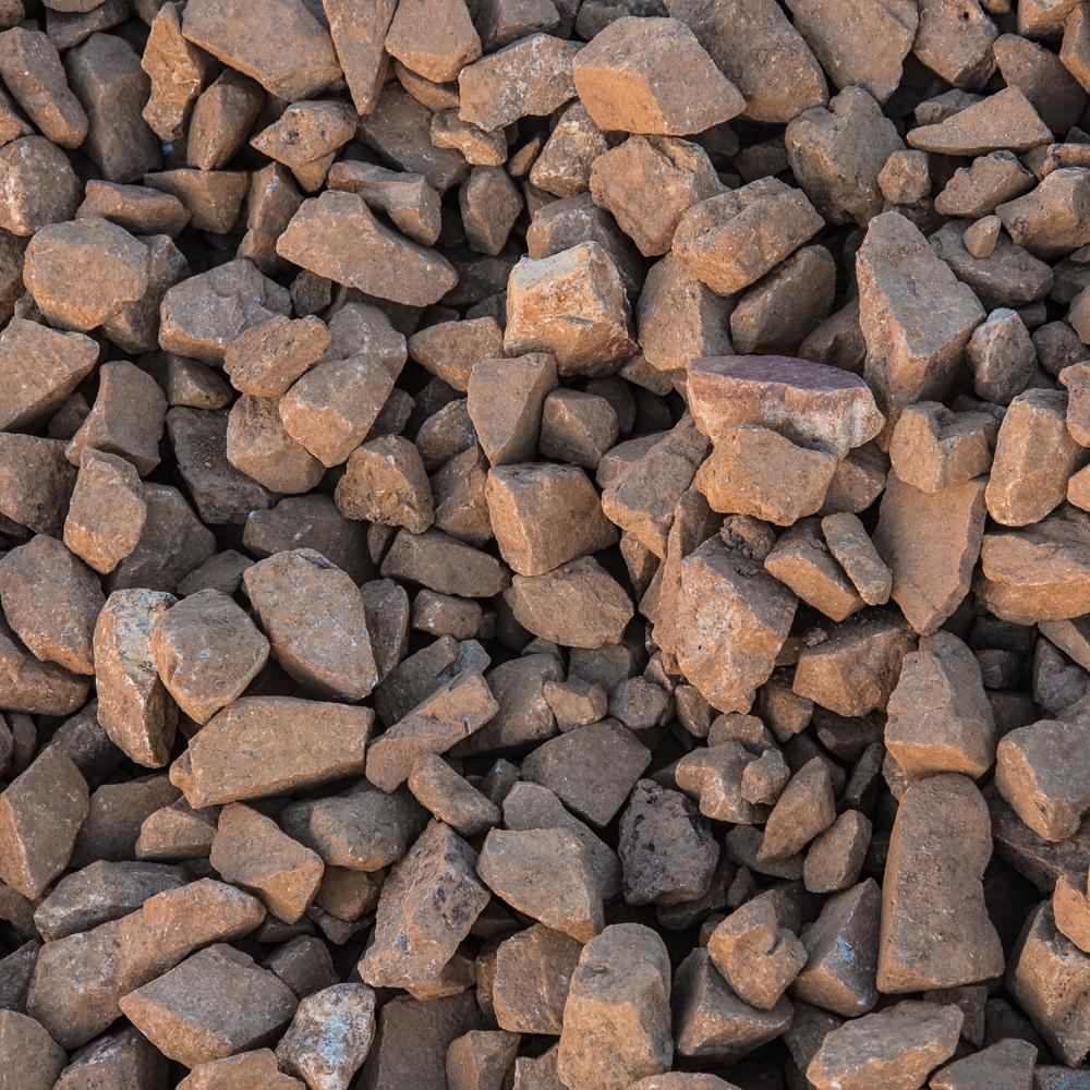 """1""""-3"""" Coronado Brown - $30.00/ton"""