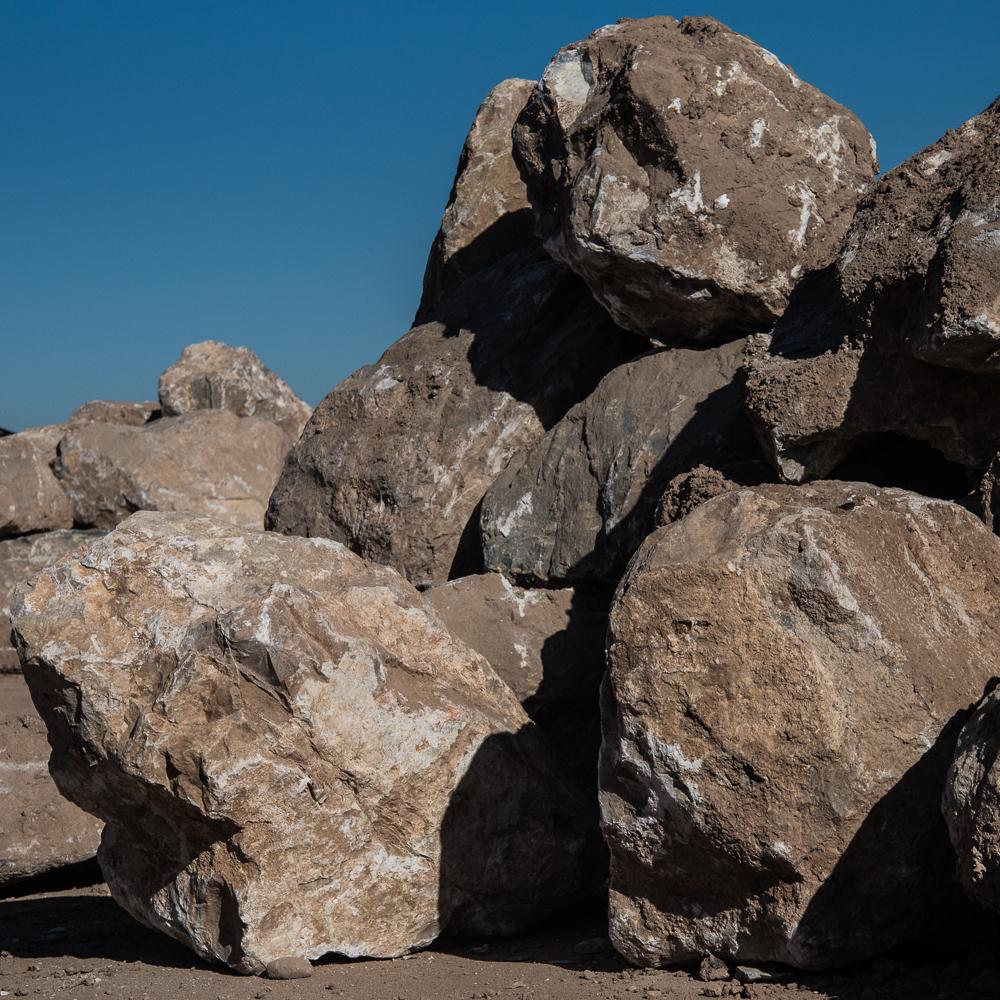 Catalina White Boulders - $25.00/ton