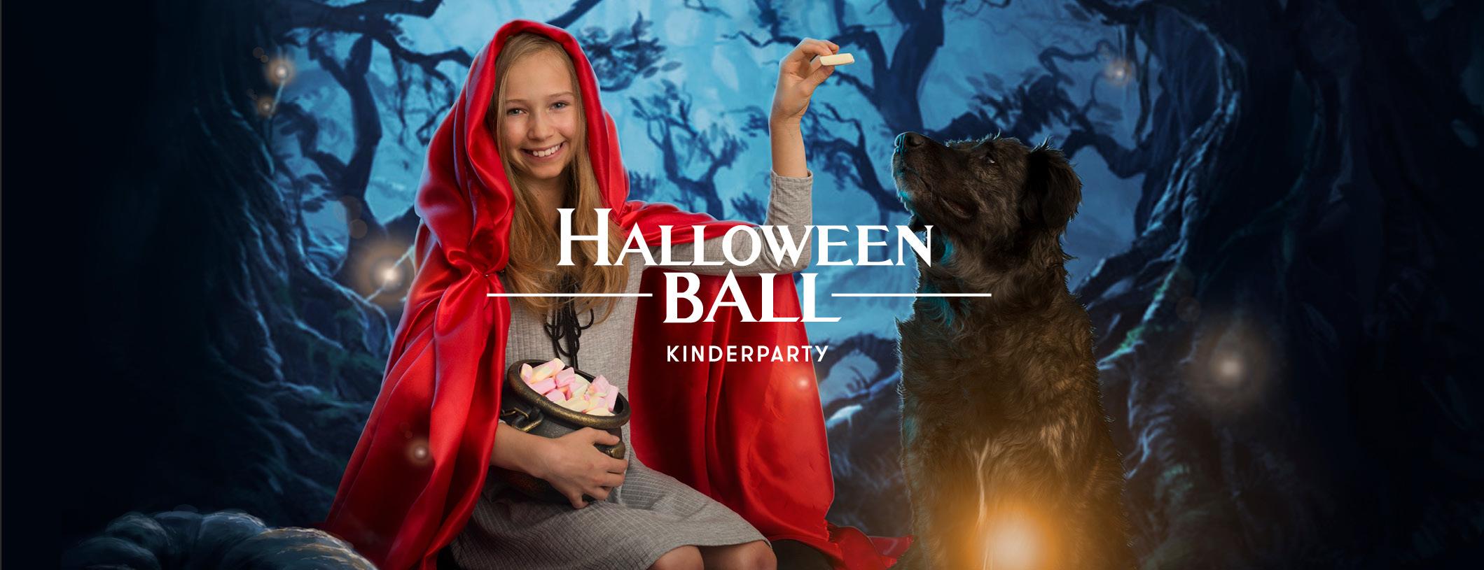 Halloweenball Kinderparty