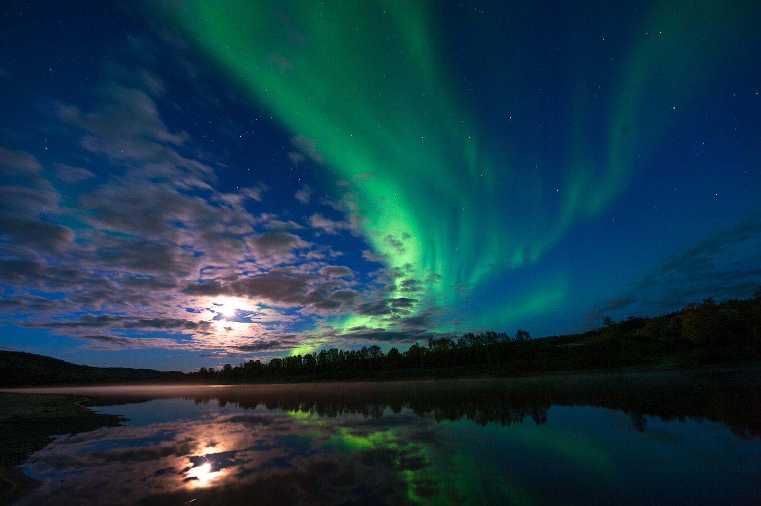 The northern light is spellbinding - and you can even get an app to see when you get to see it