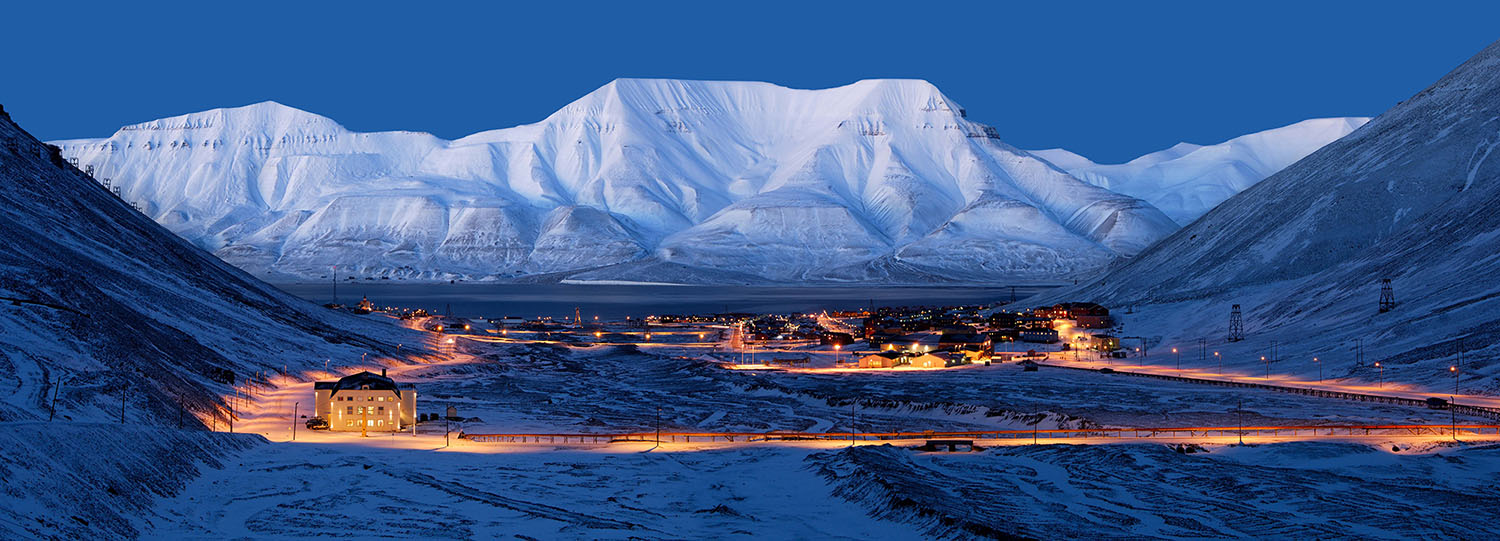 Longyearbyen, the 'capital' of Svalbard. Surprisingly far noth and surpisingly entertaining