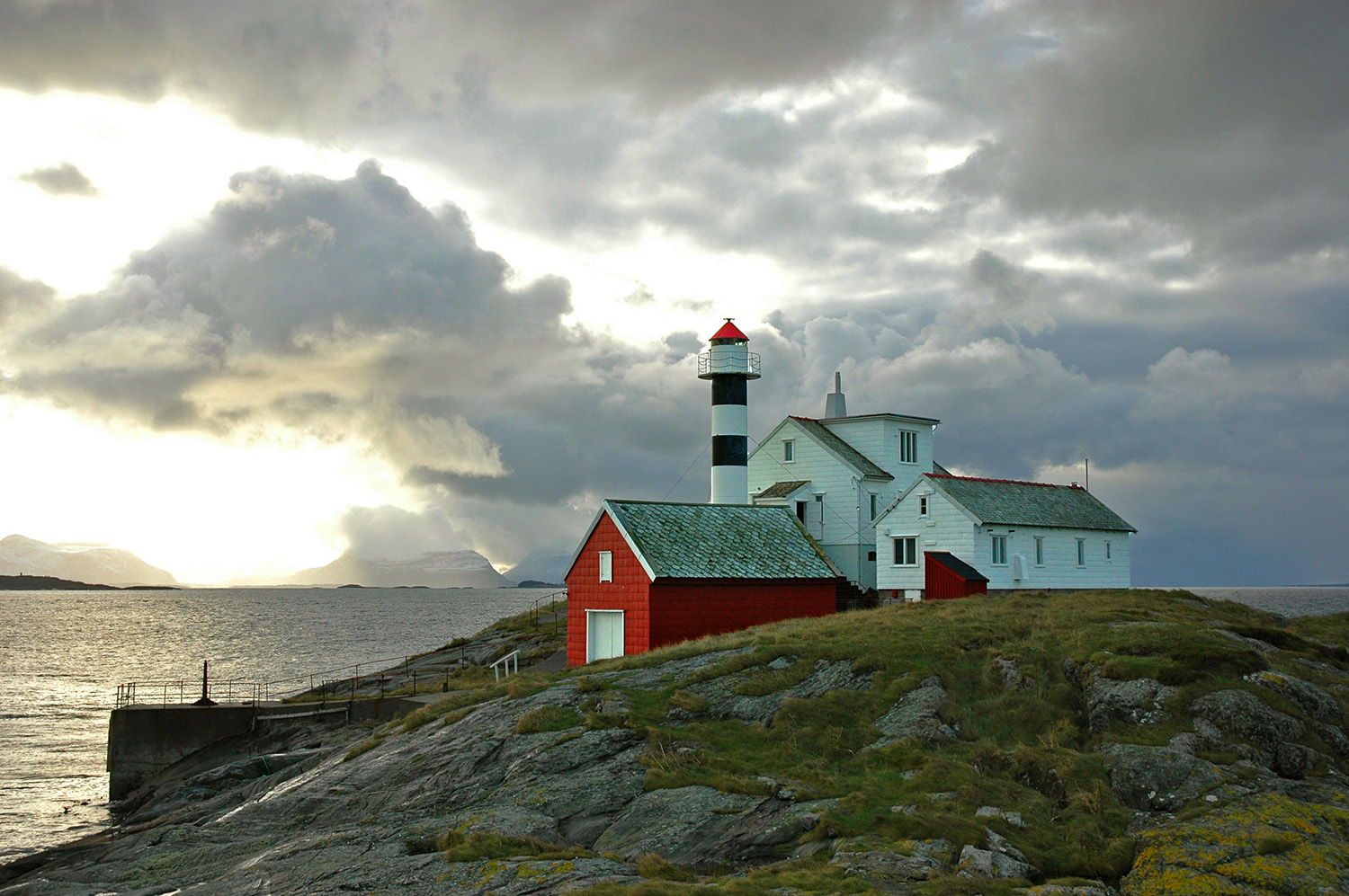 The lighthouse logding in Norway is a well hidden secret - this is the xxxx
