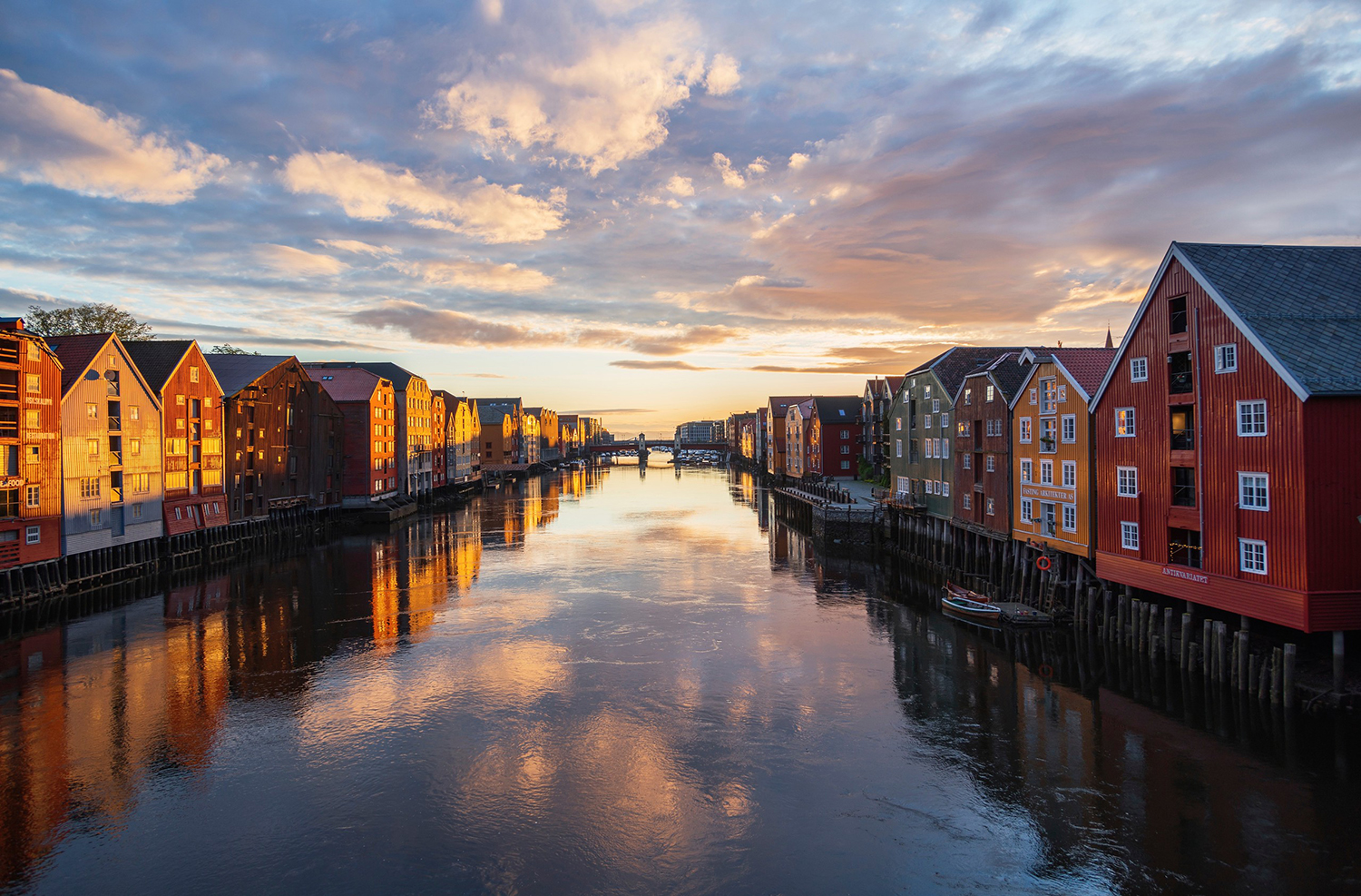 Trondheim is a cultural and historic center in Mid-Norway