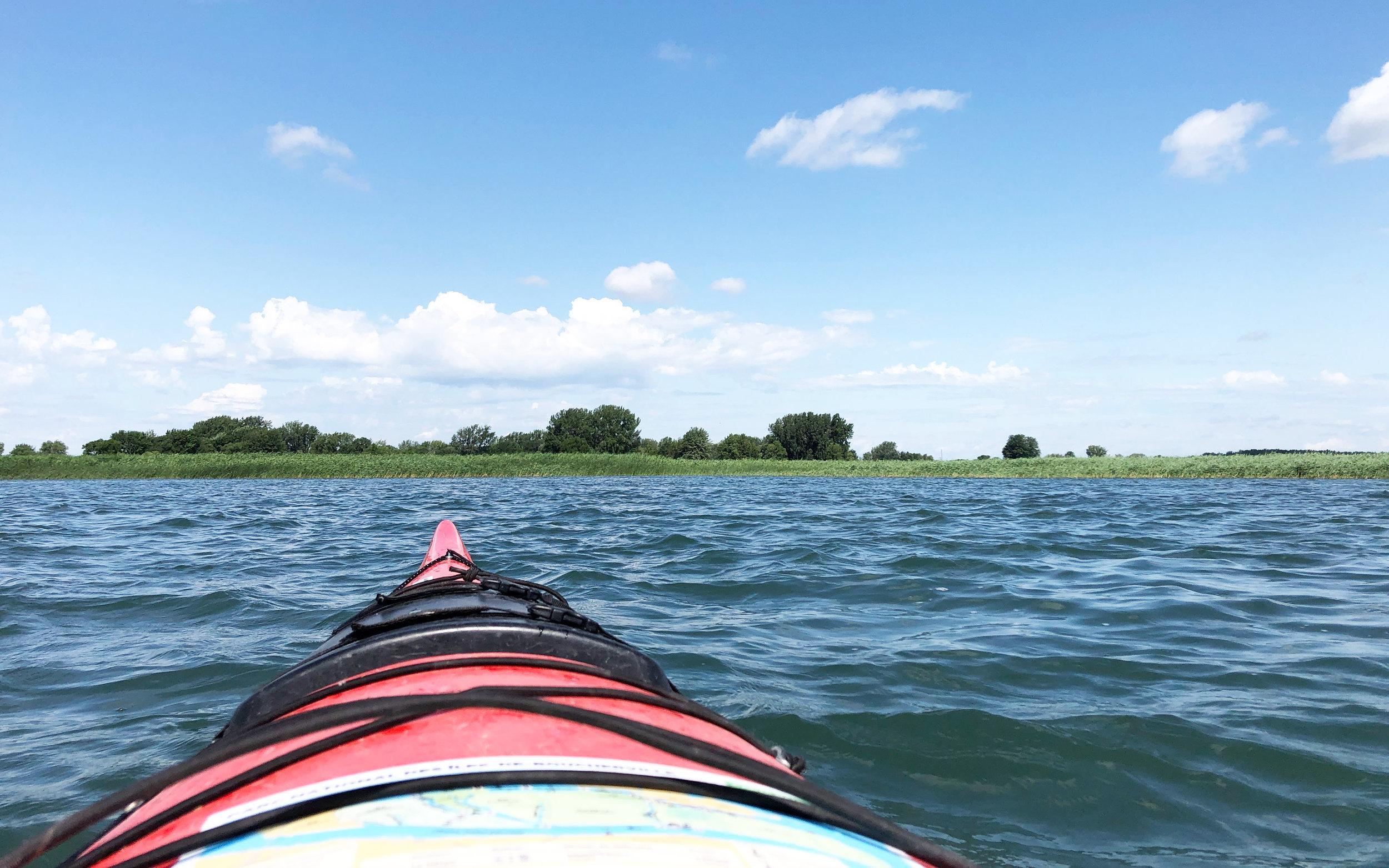 Kayak at Îles-de-Boucherville National Park