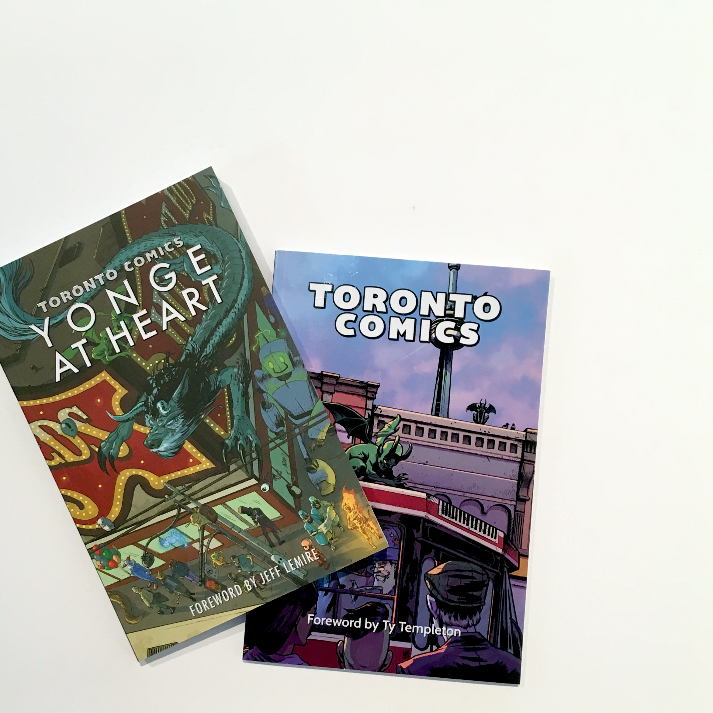 Toronto Comics Volume one and Yonge at Heart