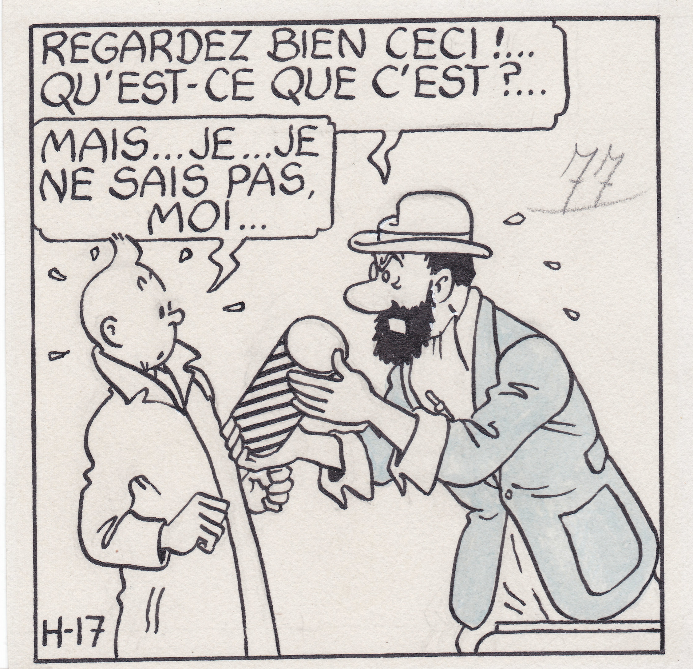 Franco-Belgian comic by cartoonist Hergé.
