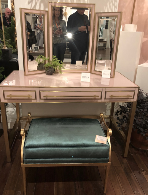 Currey & Company   What woman wouldn't want to work this dressing table into her boudoir design?