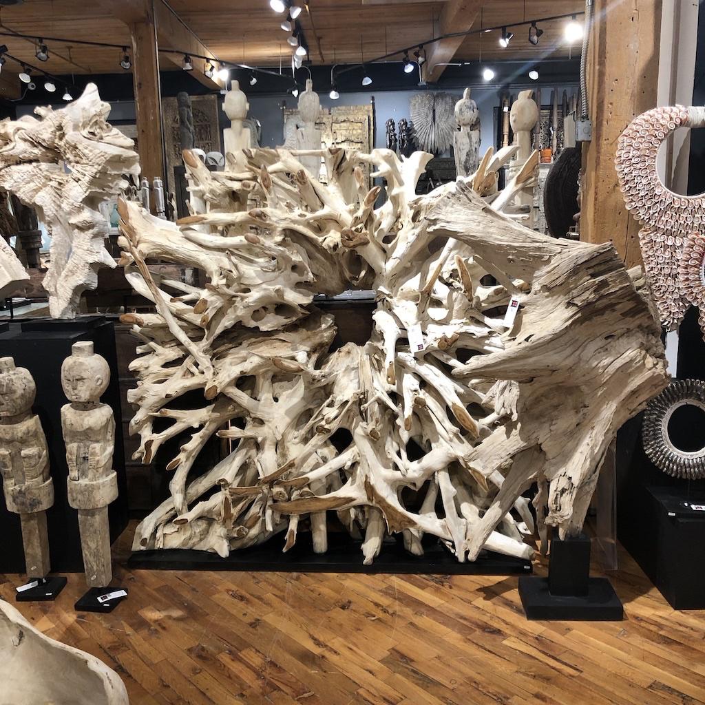 Asian Loft showroom display.