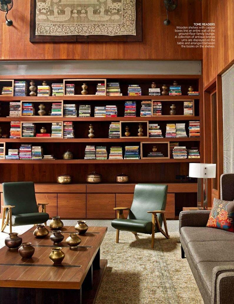 Mid Century styled  Living Room .