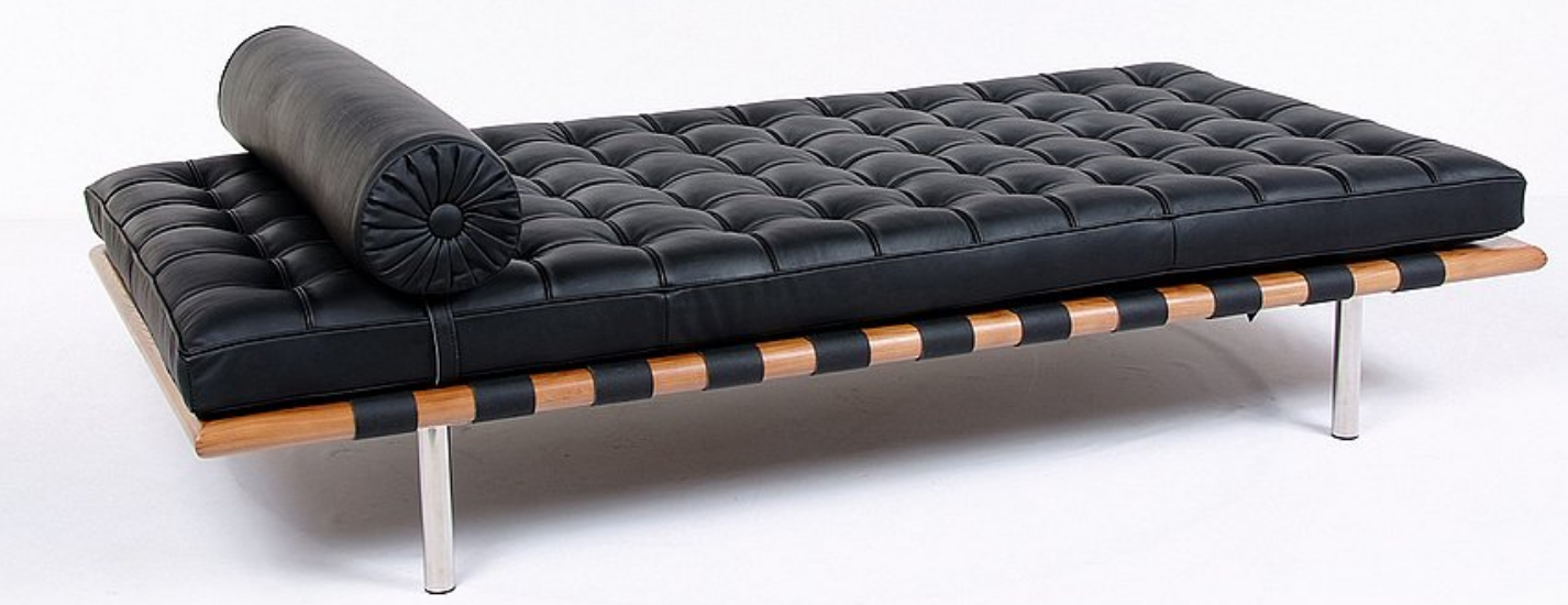 Mies van der Rohe inspired daybed