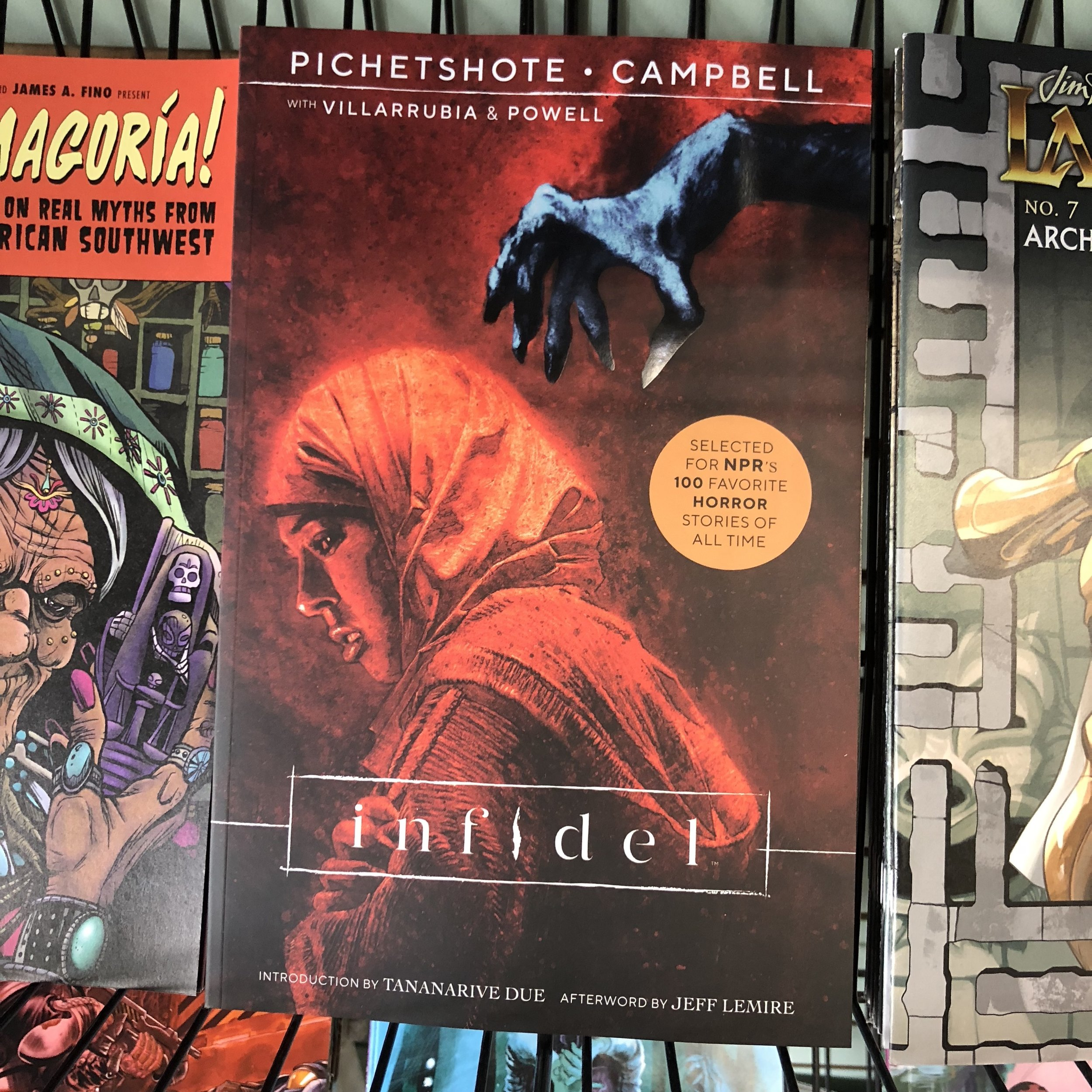 INFIDEL TP - Great under-read Image horror series has picked up steam after publication.