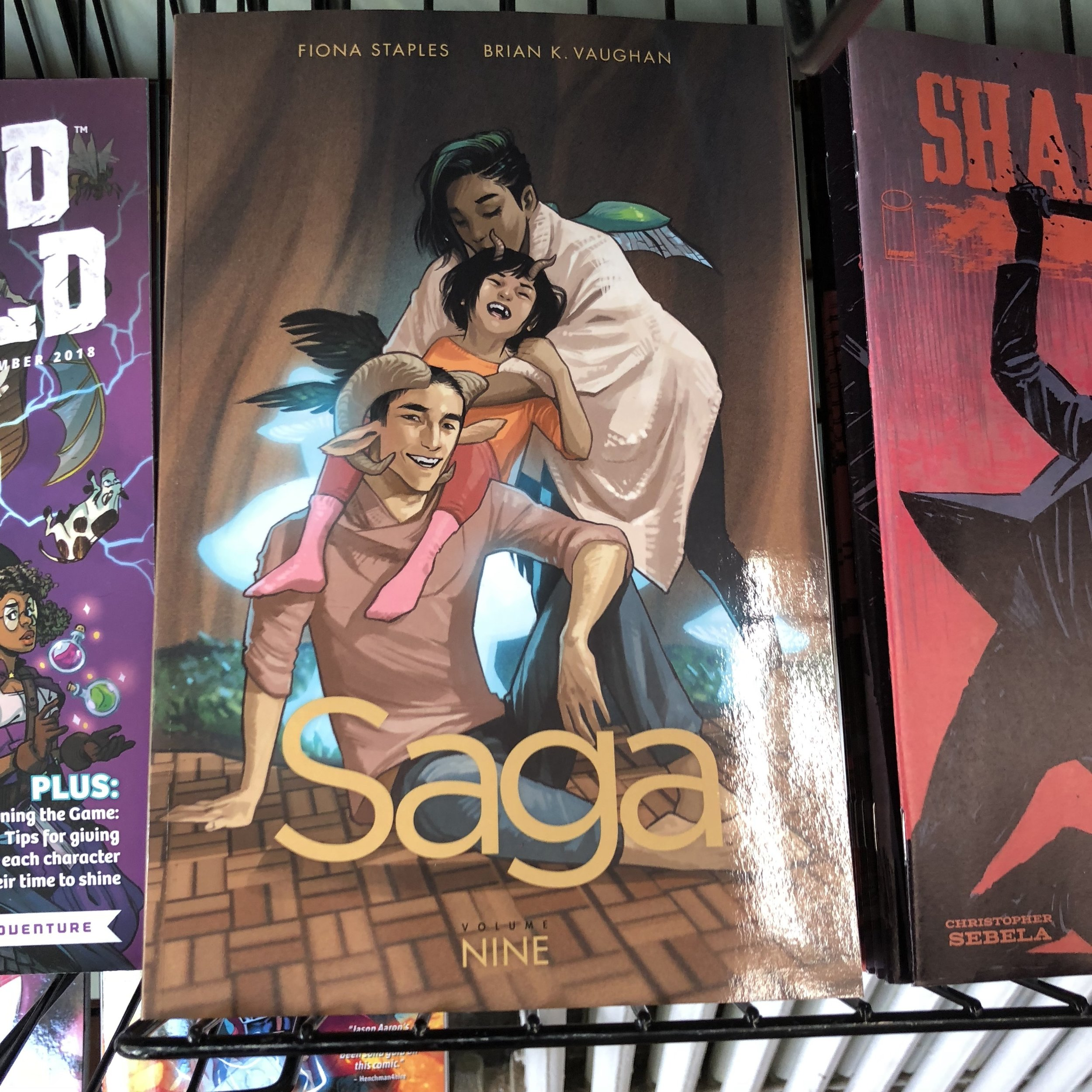 SAGA V9 TP - It's out. It's got… stuff that happens. I don't want to talk about it.