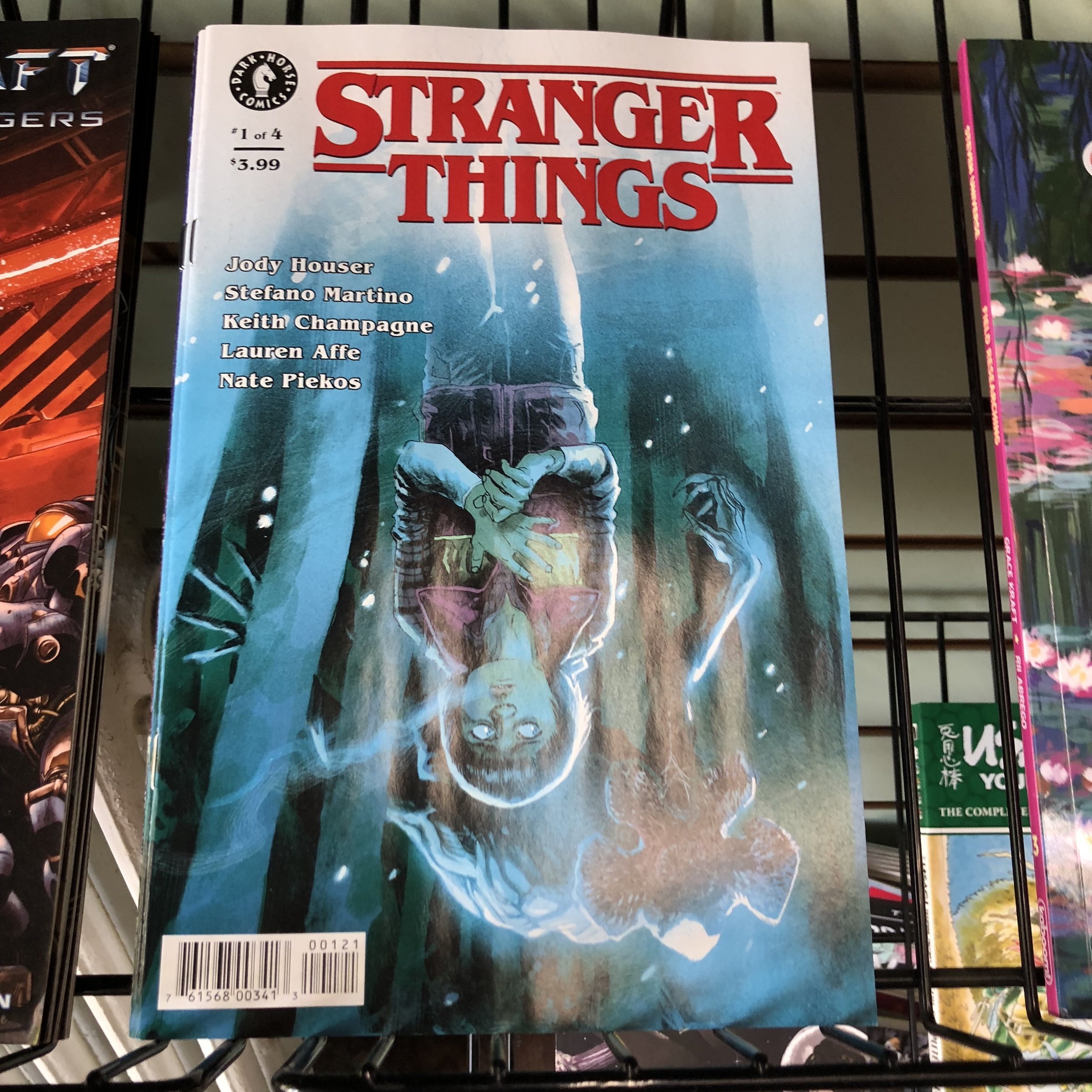 STRANGER THINGS #1 - Find out what happened to Will in the UPSIDE DOWN!