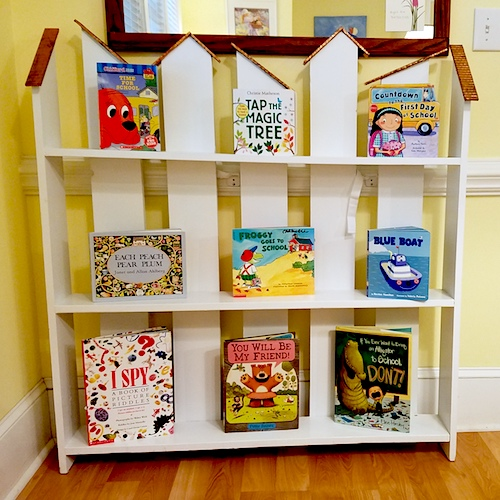 Right Fit Speech and Feeding Therapy - Book Shelf