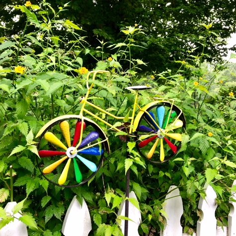 Right Fit Speech and Feeding Therapy - Colorful Bicycle in Garden