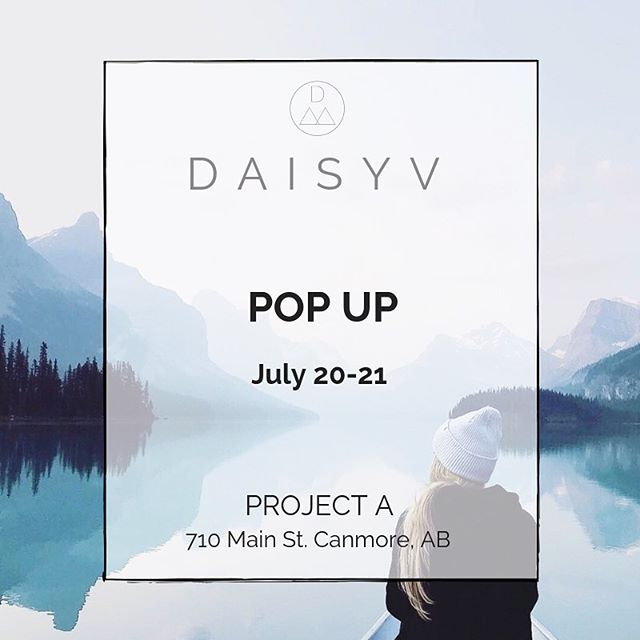 Hey! My last ever pop up in Canada is just a few weeks away ✨ I'll be at @project.a.shop July 20-21 selling my mountain inspired jewellery, all of which is ethically handmade by me here in Canmore. Come say hey, I'd love to see you if you can make it! For every piece of jewellery that is purchased 10 trees will also be planted ↟↟↟