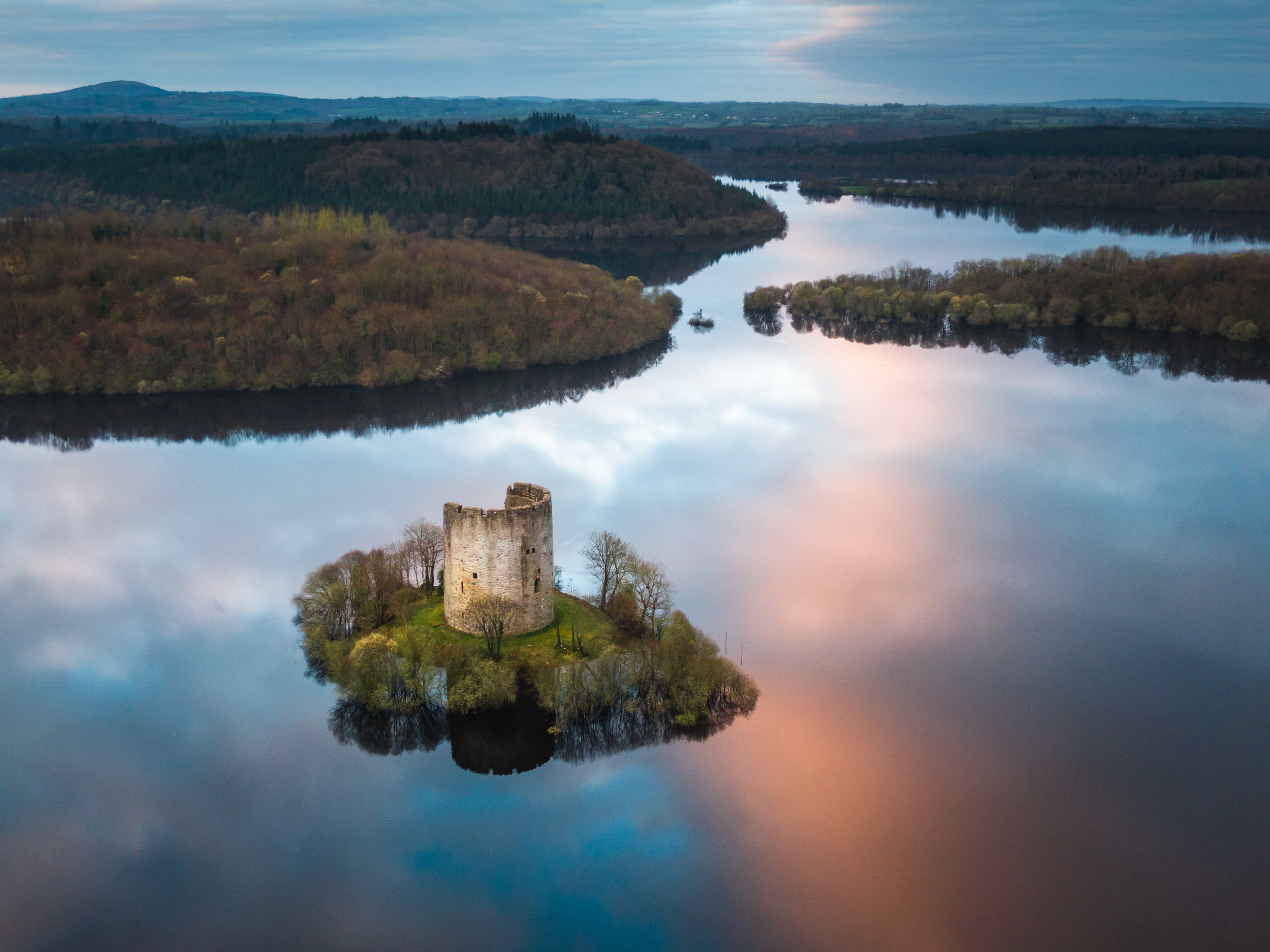 CLOUGH OUGHTER CASTLE - Visit the iconic Clough Oughter Castle Island