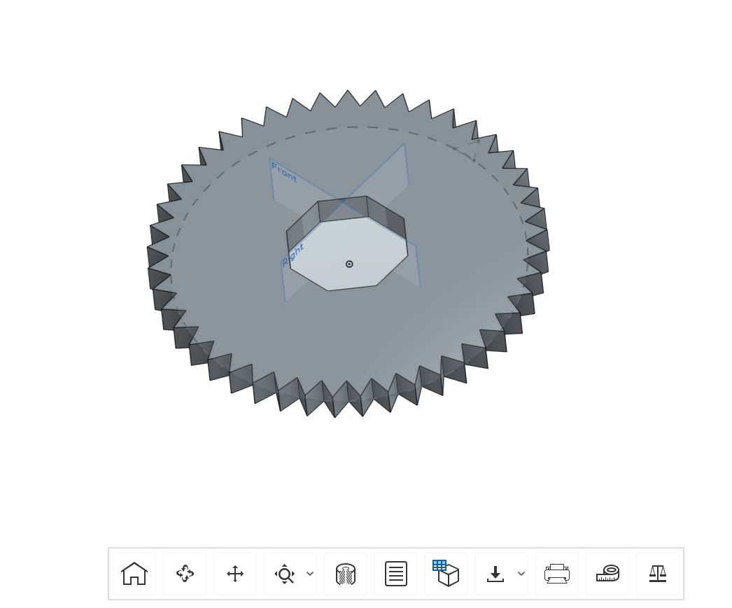 41 tooth gear