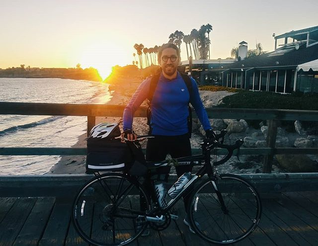 5 days. 371 miles. Another sunset and new appreciation for Northern California and the Central Coast. From SF to Capitola; Monterey to SLO; and now in Goleta. Blessed to call this great state home, even if the hills and elevation almost killed me! #codexinspire - - - - Check out the *link in my bio* to learn more about why I'm riding a bike across America and how you can support by donating to help 1st generation students attend college @codexprogram